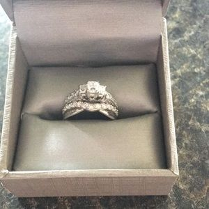 Jewelry - Engagement plus wedding band attached